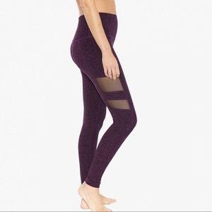 Beyond Yoga Mesh Panel spacedye Tight  Sz S